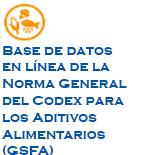 Base de datos sobre aditivos alimentarios   (F.A.O)