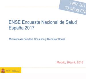 Encuesta Nacional de Salud. España 2017