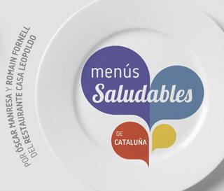 Menús saludables de Cataluña