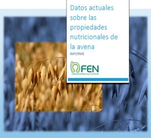 Datos actuales sobre las propiedades nutricionales de la avena