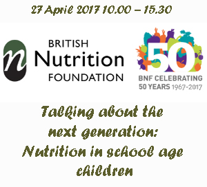 Talking about the next generation: Nutrition in school age children
