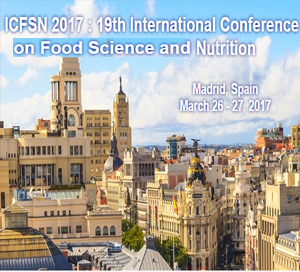 ICFSN 2017 : 19th International Conference on Food Science and Nutrition