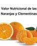 Valor nutricional de las naranjas y clementinas