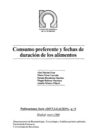 Consumo preferente y fechas de duración de los alimentos