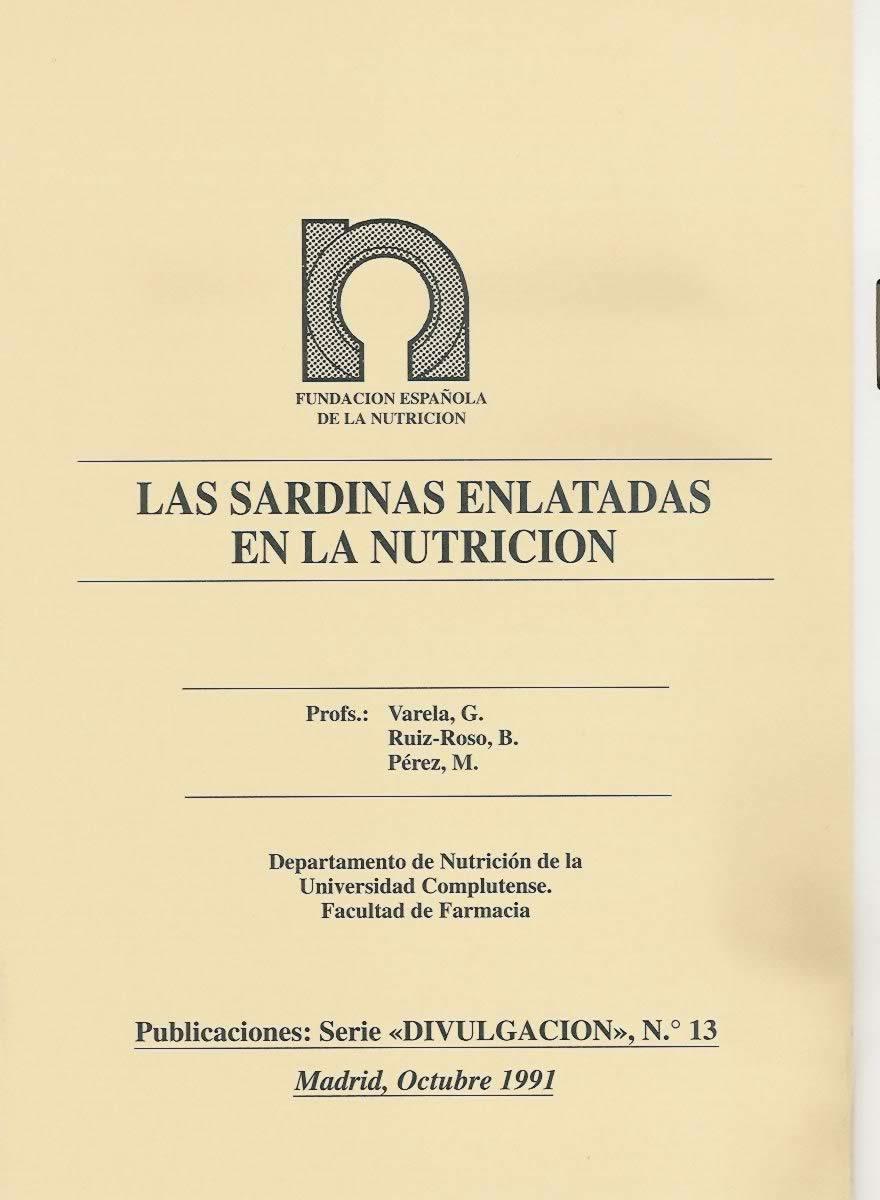 Las sardinas enlatadas en la nutrición
