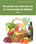 Encuesta de nutrición de la Comunidad de Madrid