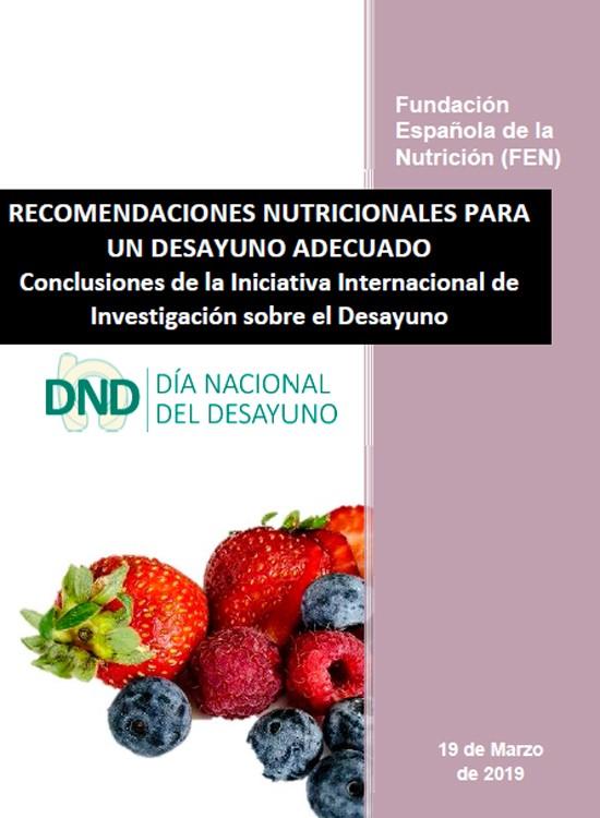 Recomendaciones nutricionales para un desayuno adecuado