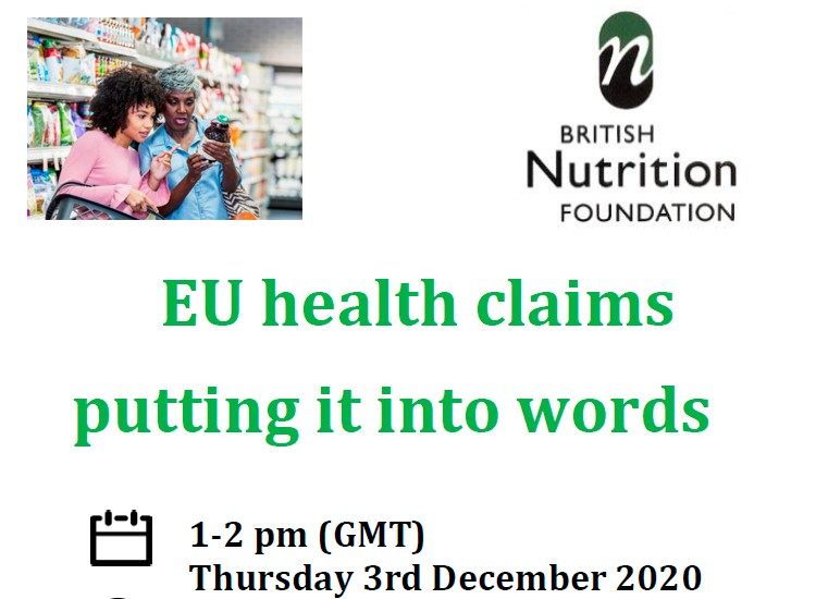 EU health claims – putting it into words